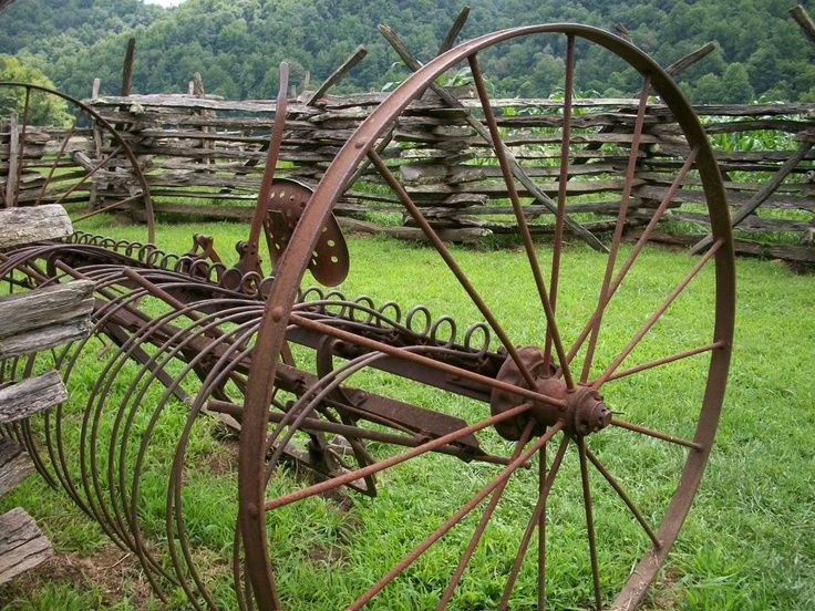 old farm equipment images | Don't you think old farm equipment - all rusty with…