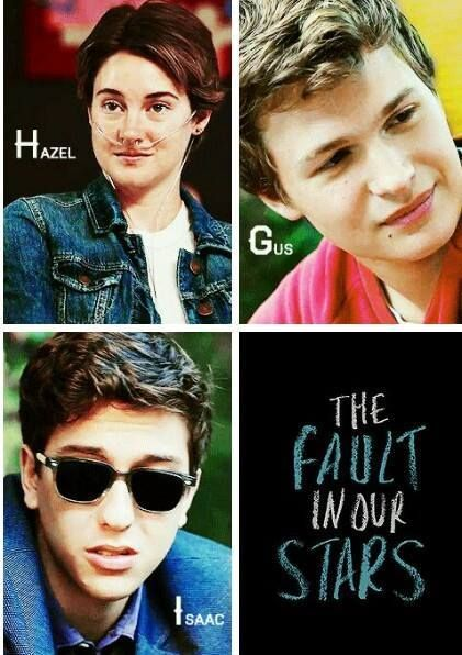 Hazel, Augustus and Isaac ♥ | The Fault In Our Stars ...