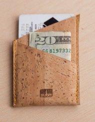 Cork Wallet.