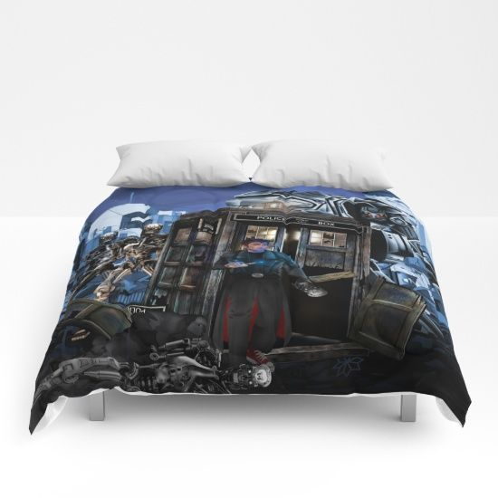 10th Doctor who trapped in the terminator war zone COMFORTERS #comforters #terminator #chrome #dayofthedead #cyborg #skynet #arnoldschwarzenegger #schwarzenegger #t800 #theterminator #genisys #terminator2 #dtfan4life #tardisdoctorwho #doctorwho #10thdoctor #davidtennant