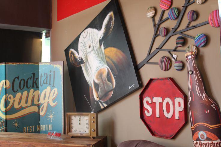 No te detengas... ¡Todo lo que veas lo puedes comprar! ¡Sigue descubriendo con #Kare! #Stop #Cow #Kare #Interior #Decoration