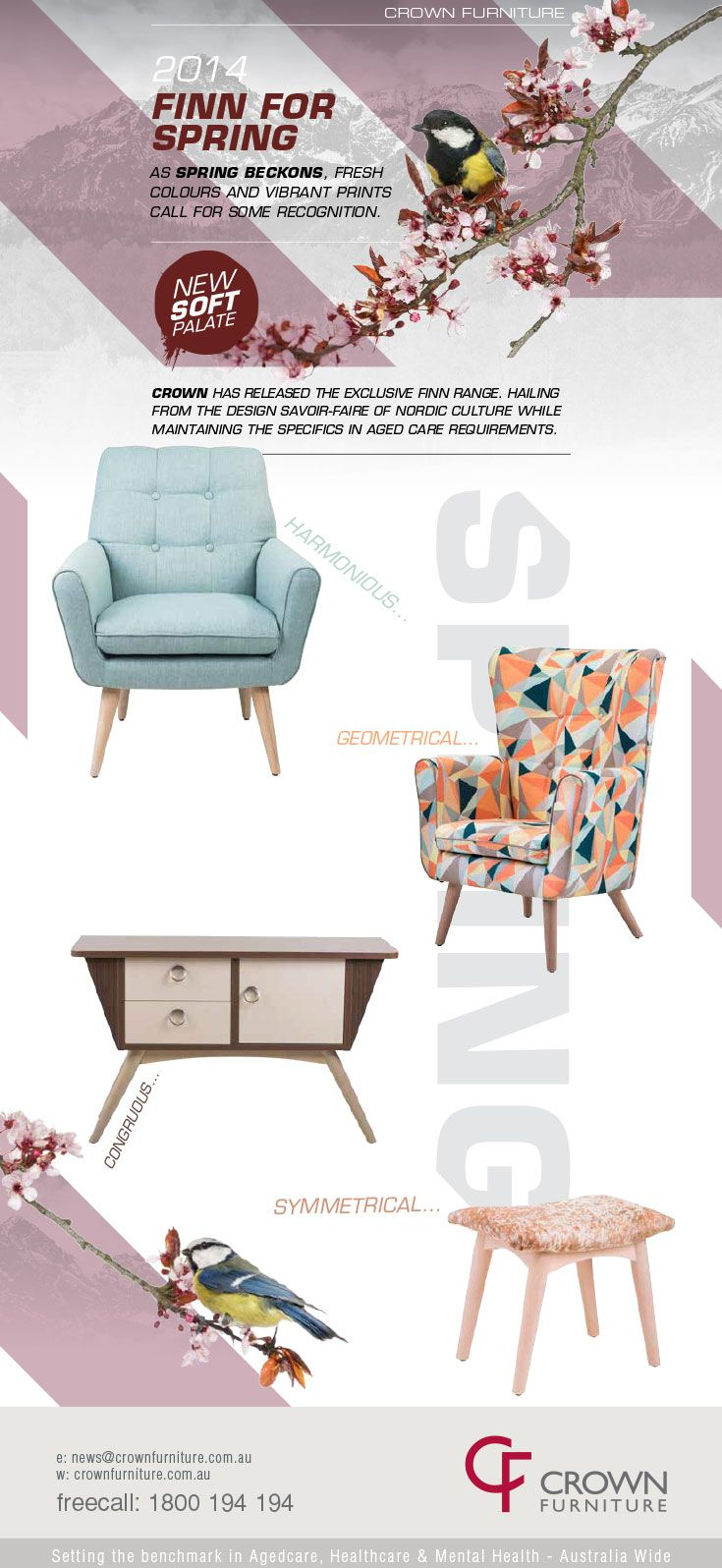 Spring EDM for Crown Furniture