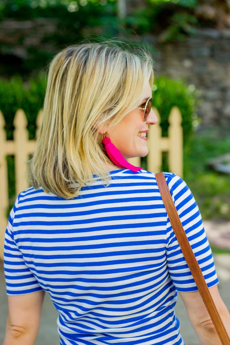 J.Crew Perfect-fit t-shirt on Belle Meets World blog