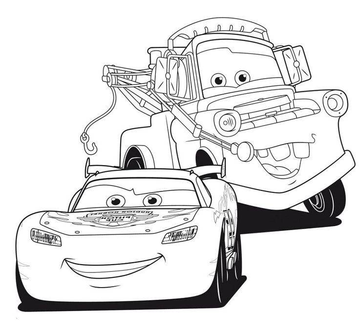 coloriage flash mcqueen 3 coloriage cars et cars 2 et ...