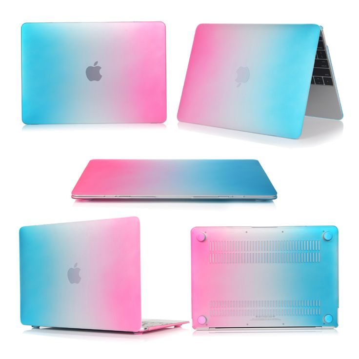==> [Free Shipping] Buy Best Hot Sale Rainbow Plastic Hard Shell Case Cover For Apple Macbook Pro 13.3 inch 2016 Version Protective Anti-Dust Laptop Bag Online with LOWEST Price | 32806260206