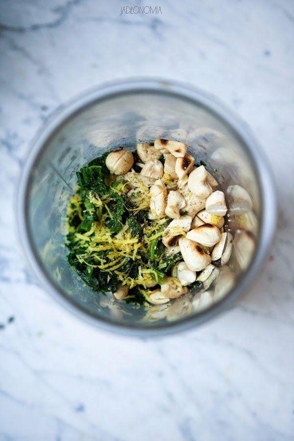 jadłonomia · roślinne przepisy: Pesto z jarmużu