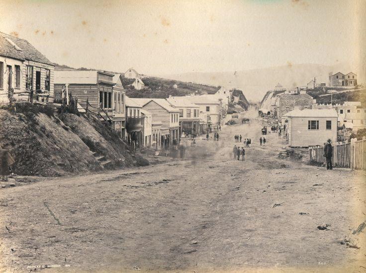 Dunedin - Princes Street - 1861