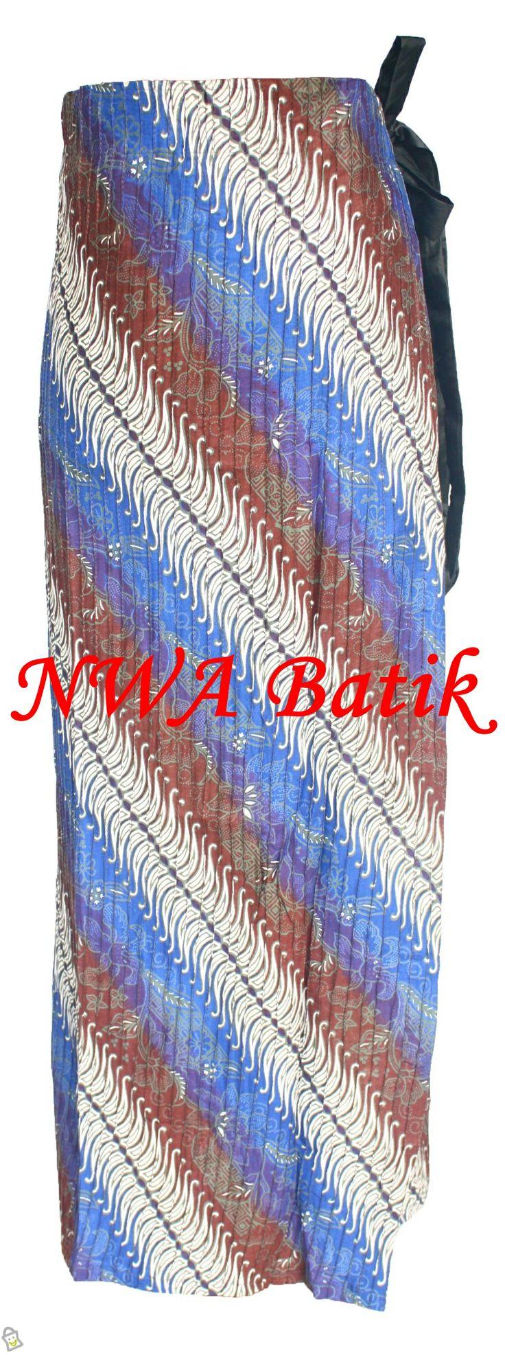 Rok Batik Lilit Obnesil Biru. IDR 150.000,-