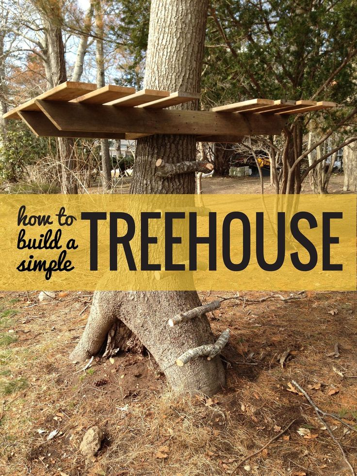 In spring of 2013, I decided to bust out and build a tree house for my daughter Ursula, which I'd never done before. I remember having one as a kid and loving it. I wanted one that I could build in a day, wouldn't be too high up so as to worry me or other parents, and which was SIMPLE in design to maximize playtime and allow for adding on later. It's light, open and can go up and down easily.