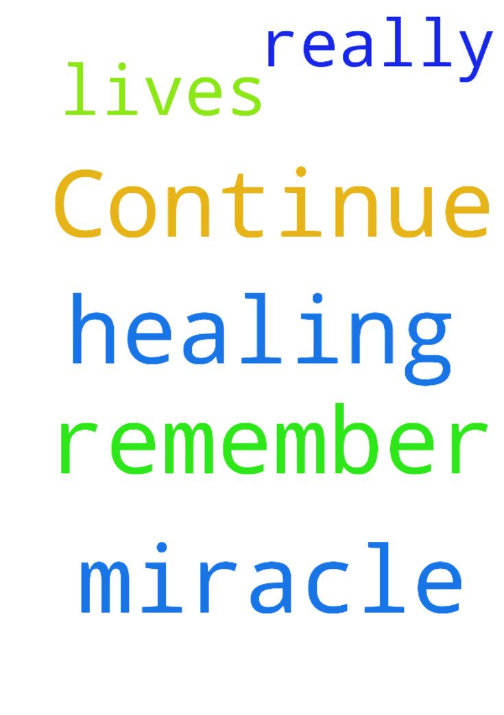 Continue to remember us in your prayer for a miracle - Continue to remember us in your prayer for a miracle healing, we are really in need of Gods healing in our lives please Posted at: https://prayerrequest.com/t/OaG #pray #prayer #request #prayerrequest