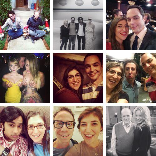 thebigbangtheorists: The Big Bang Theory cast on Instagram.