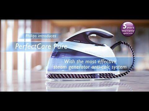 Am testat #PhilipsPerfectCare Pure in campania BuzzStore si Acasa cu Philips!  Va invit sa vizionati un scurt filmulet in limba engleza despre avantajele statiei de calcat!