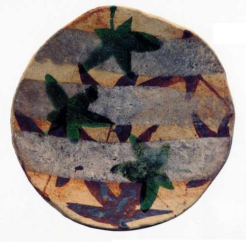 Rosanjin-  I love, love, love this plate.  An image of it hangs in my studio along with an early American Shenandoah valley cookie jar.