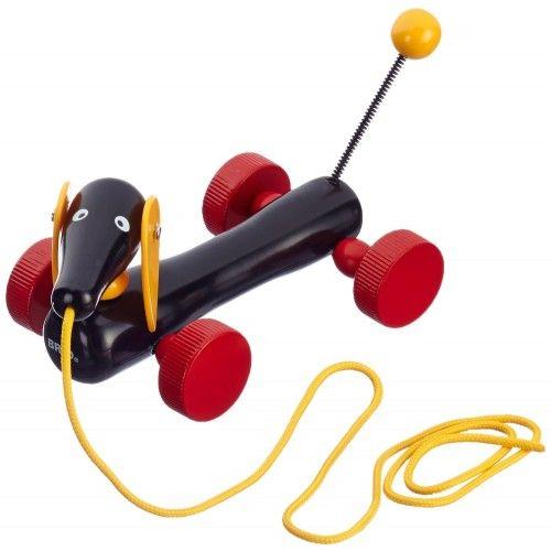 Jim le teckel est un jouet à traîner classique de la marque Brio. Il vous attend sur notre site http://www.jeujouet.com/brio-jouet-trainer-jim-le-teckel.html #JimLeTeckel #JouetATrainer #Brio #Jeujouet