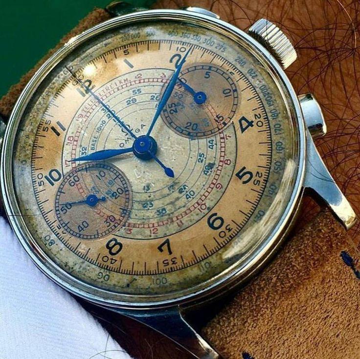 """wristprn: """" Stunning Vintage Omega   #WRISTPORN by @hdfanatic & @the.watch.world   www.wristporn.com """""""