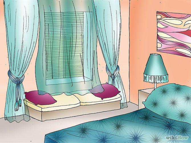 """Ten en cuenta la posición de las ventanas. Si puedes, trata de no colocar tu cama entre la ventana y una puerta; si no, estarás en medio de una """"sequía"""" de flujo de energía chi entre estos dos sitios. Si no puedes evitarlo, asegúrate de tener cortinas agradables y bonitas para bloquear parte de la energía negativa. Si puedes, también deberás evitar dormir frente a la ventana, sino tu sueño no será reparador."""