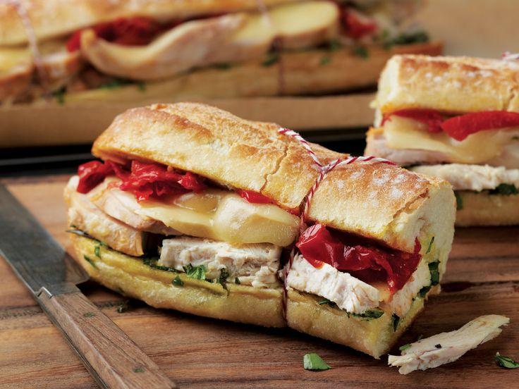 Warm Tuscan Chicken Sandwich Recipe - Food - GRIT Magazine