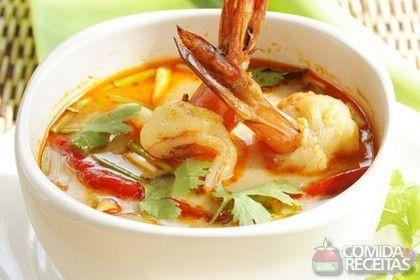 Receita de Sopa de peixe e camarão - Comida e Receitas