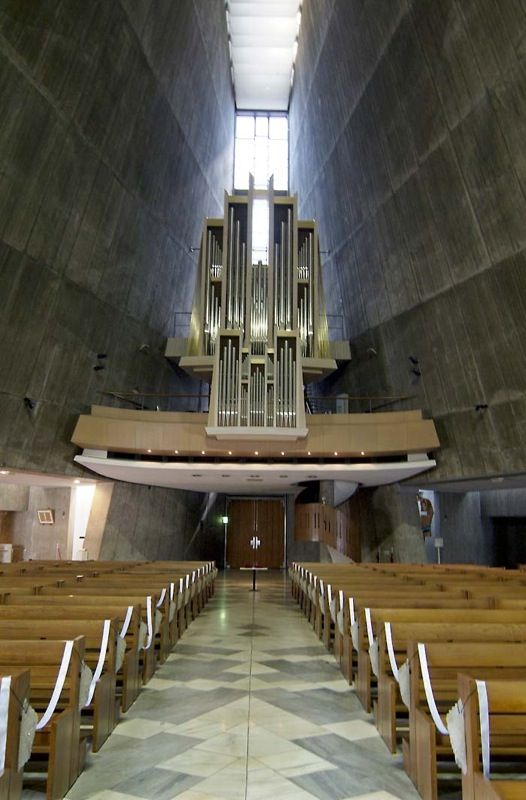 St. Mary Cathedral / Kenzo Tange