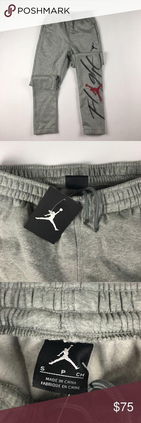 New Jordan Nike Flight Fleece Joggers Jogger Gray New Nike Pants Sweatpants & Joggers