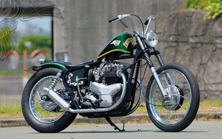 kawasaki w1 bobber | jesus cycle