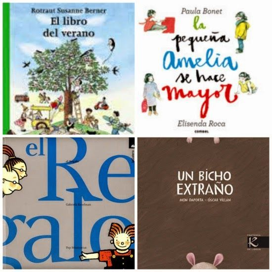 Libros infantiles imprescindibles de 0-6 años