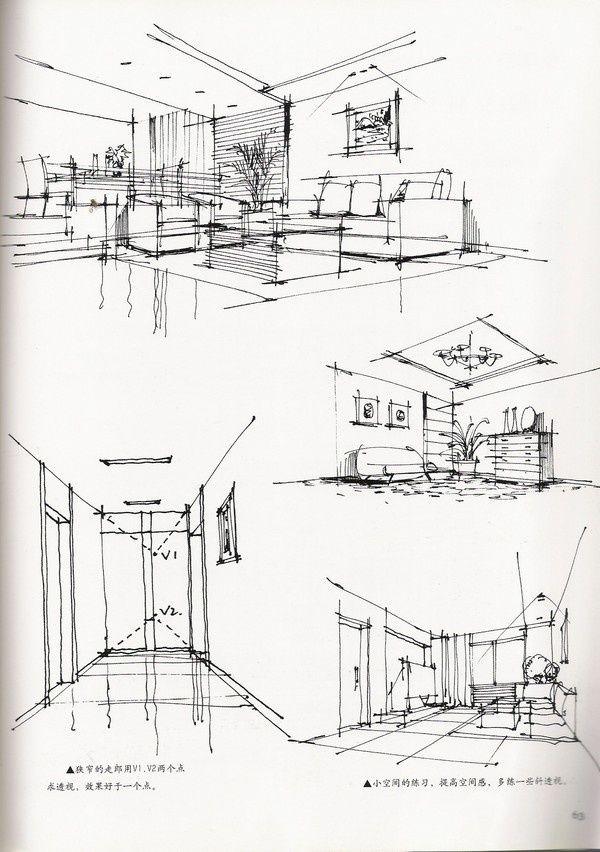 Hand renderings sketch presentation pinterest hands - Hand drafting for interior design ...