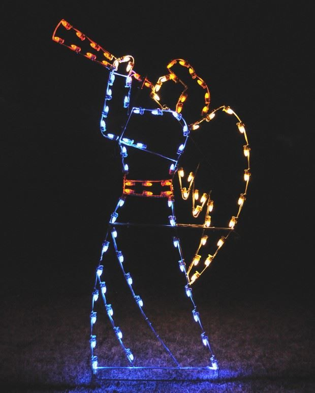 25+ unique Outdoor christmas light displays ideas on Pinterest - lighted christmas yard decorations