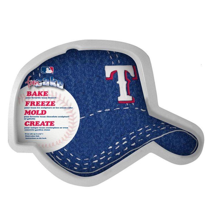 Pangea Fan Cakes - Texas Rangers