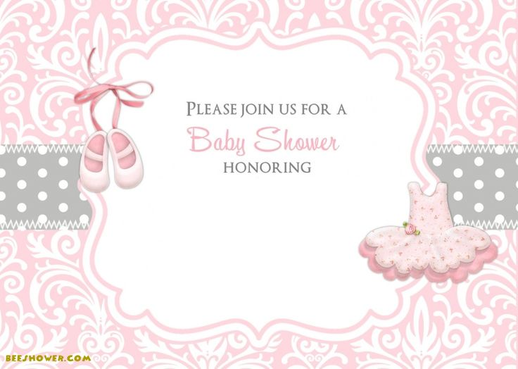 Free Princess Themed Baby Shower Ideas And Invitation   FREE Printables!  Free Baby Shower Invitations Templates Printables