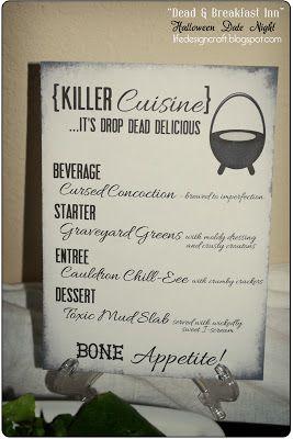 Love, Actually: Dead & Breakfast Inn - Halloween Date Night