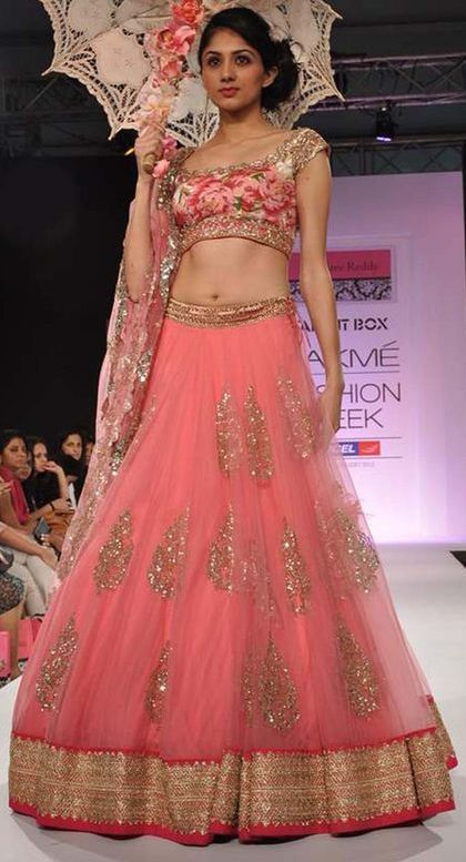 141 best Anushree Reddy Bridal Lehengas & Anarkalis images on ...