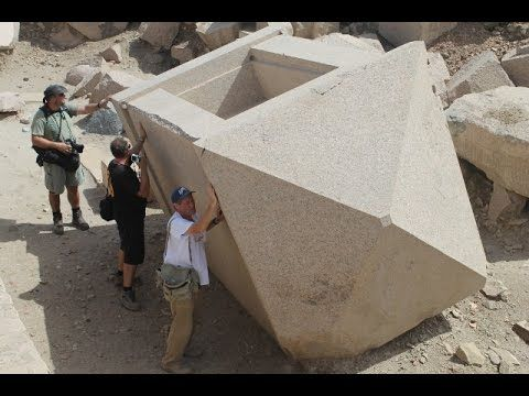 One of the biggest unresolved issues in Egypt is that of stone carvings. Gigantic granite blocks were cut partially without cutting waste and transported many hundreds of kilometers, where s …