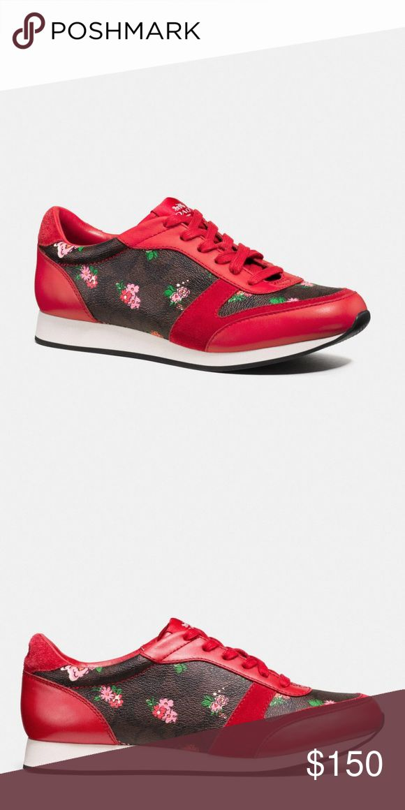 COACH BNWT Rebecca Sneaker 6 New in Box with Tags So cute!! Don't miss out on these rare sneakers from Coach!! Comes with Coach Shoe Box Coach Shoes Sneakers