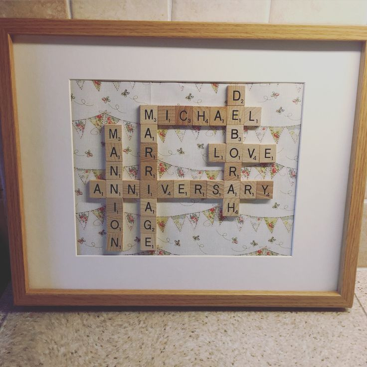 17 best ideas about anniversary gifts for parents on for Arts and crafts ideas for couples