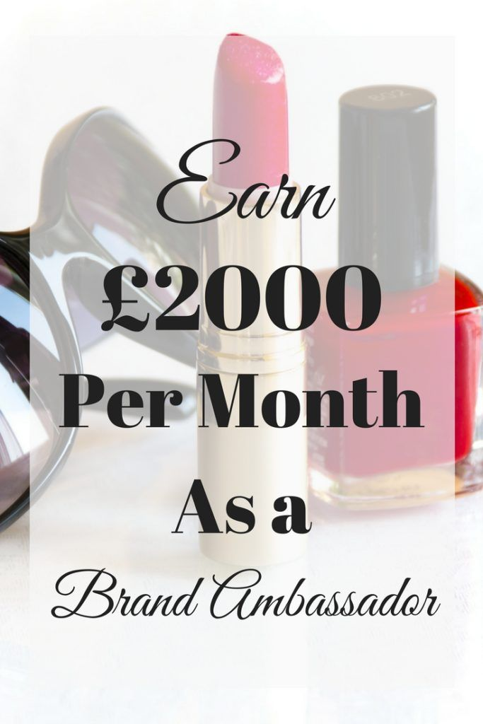 Make Money as a Brand Ambassador – free products