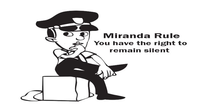 The #Miranda rule requires police to inform a person about the Fifth Amendment right before being taken to #custody.  https://uslawyer.us/know-emergency-exception-to-your-miranda-rule/