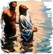 "Matthew 3:13-17   The Baptism of Jesus.*13i Then Jesus came from Galilee to John at the Jordan to be baptized by him.14* John tried to prevent him, saying, ""I need to be baptized by you, and yet you are coming to me?""15Jesus said to him in reply, ""Allow it now, for thus it is fitting for us to fulfill all righteousness."" Then he allowed him.16* j After Jesus was baptized, he came up from the water and behold, the heavens were opened [for him], and he saw the Spirit of God descending like a…"