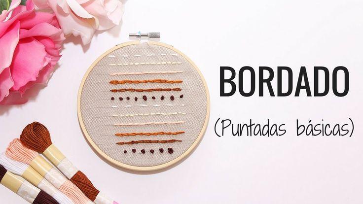 BORDADOS A MANO | 6 PUNTOS BÁSICOS