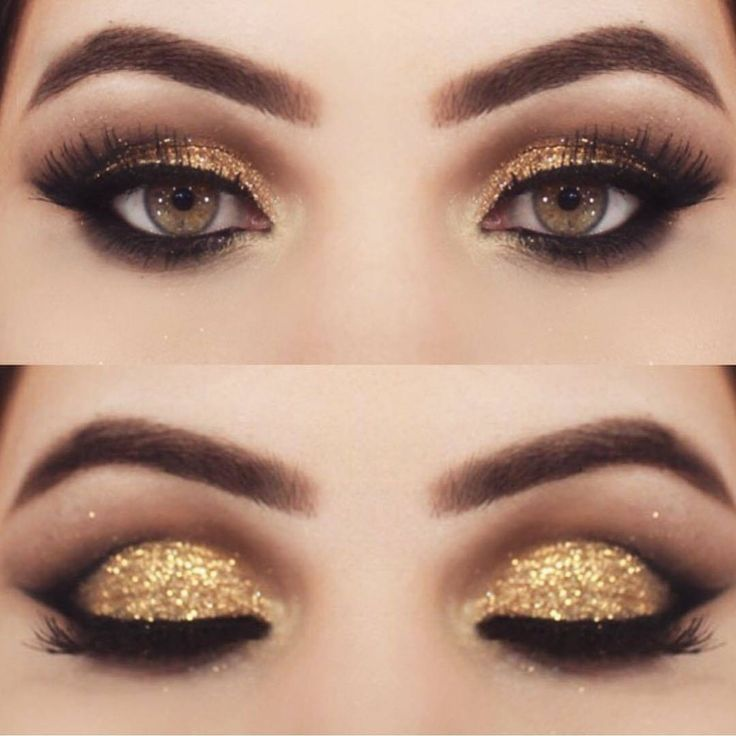 25+ best ideas about Gold eyeshadow on Pinterest | Gold eye makeup ...