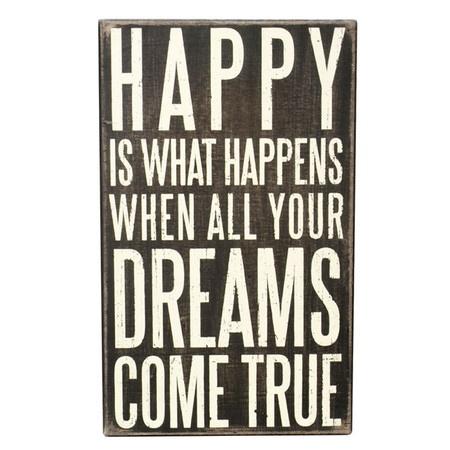 what happens when your dreams come true