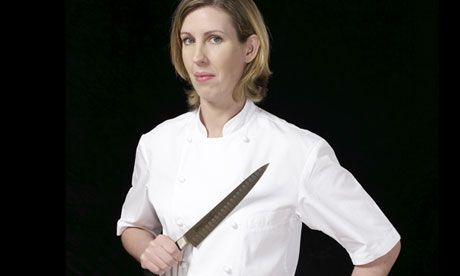 Clare Smyth: 'Having a woman in the kitchen makes men behave' http://www.theguardian.com/lifeandstyle/2012/oct/03/clare-smyth-woman-kitchen-men-behave