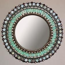 Moroccan mirror- Beautiful colors!                                                                                                                                                                                 More
