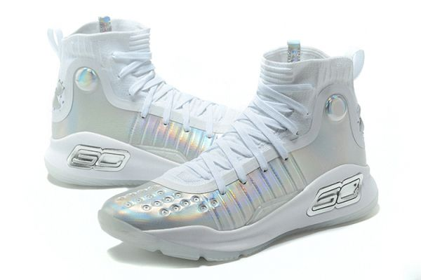newest c15cc f8cf7 UA Curry 4 VI Iridescent High King Glory Pure Platinum Cool ...