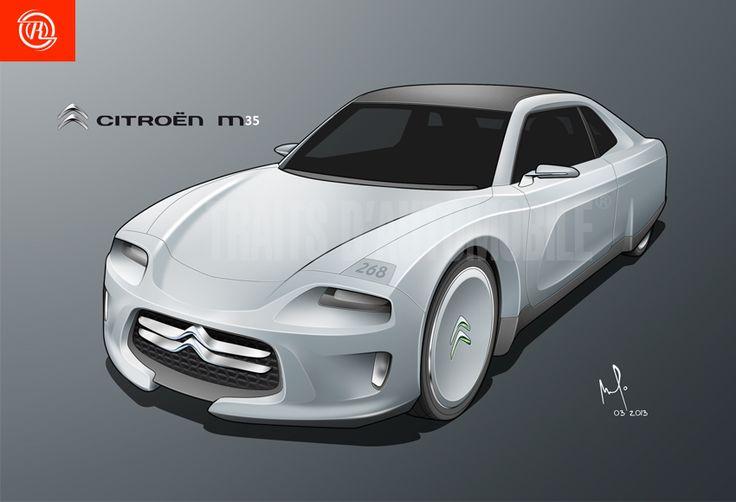 Citroen M35 revival by Amaury de R