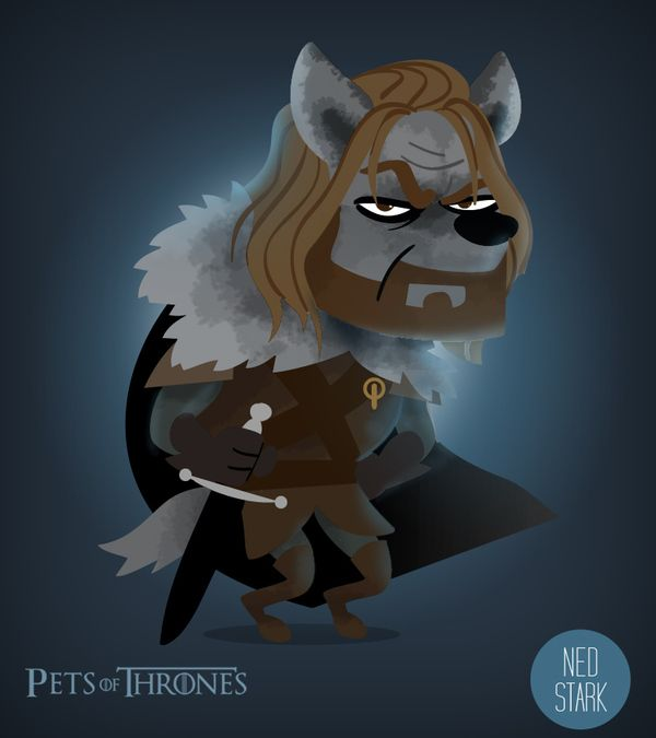 Humorous Pets of Thrones Series - My Modern Metropolis