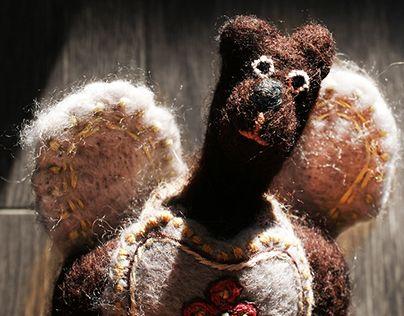 "Check out new work on my @Behance portfolio: ""Жура Анастасия. Куклы тильда из…"