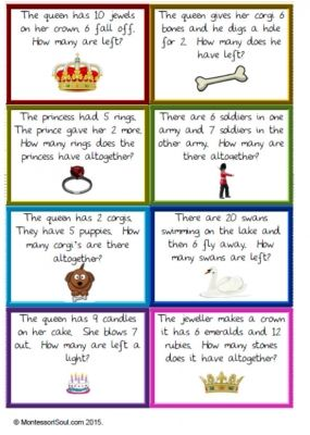 Queen's Birthday - Worded maths problems