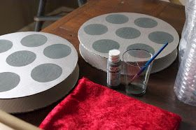 ParDIY: Cardboard Movie Reels | DIY