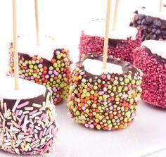 Ces marshallows au chocolat sont parfaits pour les enfants. Retrouvez la recette ici.